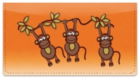 Click on Funky Monkey Checkbook Cover For More Details