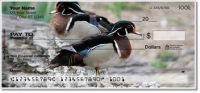 Click on Wood Duck Personal Checks For More Details