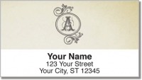 Click on A Monogram Address Labels For More Details