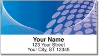 Click on Blue Contempo Address Labels For More Details