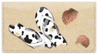 Click on Flip Flop Checkbook Cover For More Details