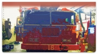 Click on Fire Station Checkbook Cover For More Details