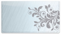 Click on Fancy Scroll Checkbook Cover For More Details