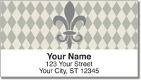 Click on Silver Fleur de Lis Address Labels For More Details