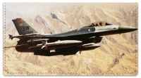 Click on F-16 Fighter Jet Checkbook Cover For More Details