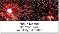 Click on 4th of July Fireworks Address Labels For More Details