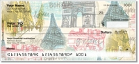 Click on Paris Vacation Personal Checks For More Details