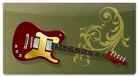 Click on Electric Guitar Checkbook Cover For More Details