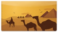 Click on Egyptian Checkbook Cover For More Details