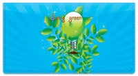 Click on Doing Green Checkbook Cover For More Details