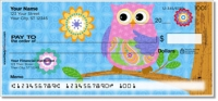 Click on Cute Owl Personal Checks For More Details