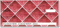 Click on Red Marble Tile Personal Checks For More Details