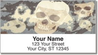 Click on Scary Skull Address Labels For More Details