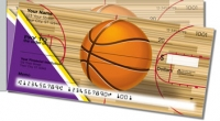 Click on Purple & Gold Basketball Side Tear Personal Checks For More Details