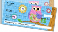 Click on Cute Owl Side Tear Personal Checks For More Details