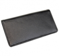 Click on Black Leather Checkbook Cover & Organizer For More Details