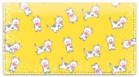 Click on Cute Cow Checkbook Cover For More Details