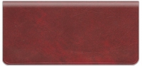Click on Deep Red Vinyl Checkbook Cover For More Details