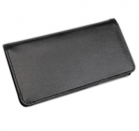 Click on Basic Black Leather Checkbook Cover For More Details