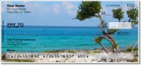 Click on Tropical Coastline Personal Checks For More Details