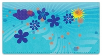 Click on Cute Blue Flower Checkbook Cover For More Details