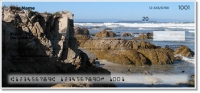 Click on Rocky Coastline Personal Checks For More Details