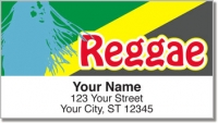 Click on Reggae Music Address Labels For More Details