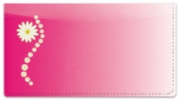 Click on Corner Daisy Checkbook Cover For More Details