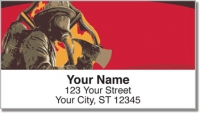 Click on Firefighter Hero Address Labels For More Details