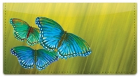Click on Colored Wings Checkbook Cover For More Details
