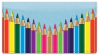 Click on Colored Pencil Checkbook Cover For More Details
