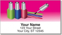 Click on Sassy Nails Address Labels For More Details