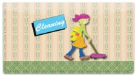 Click on Cleaning House Checkbook Cover For More Details