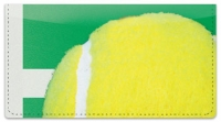 Click on Classic Tennis Ball Checkbook Cover For More Details