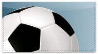 Click on Classic Soccer Ball Checkbook Cover For More Details
