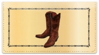 Click on Classic Cowboy Checkbook Cover For More Details