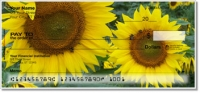 Click on Sunflower Bloom Personal Checks For More Details