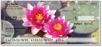 Click on Water Lily Personal Checks For More Details
