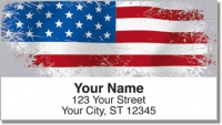 Click on American Flag Address Labels For More Details