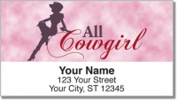 Click on Rodeo Cowgirl Address Labels For More Details