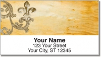Click on Iron Fleur de Lis Address Labels For More Details