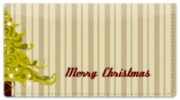 Click on Christmas Tree Checkbook Cover For More Details