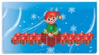 Click on Christmas Elf Checkbook Cover For More Details