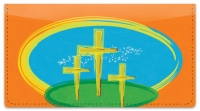 Click on Christian Cross Checkbook Cover For More Details