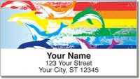 Click on Rainbow Dolphin Address Labels For More Details