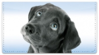 Click on Black Lab Pup Checkbook Cover For More Details