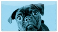 Click on Colorful Pug Checkbook Cover For More Details
