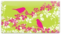 Click on Bird on Branch Checkbook Cover For More Details