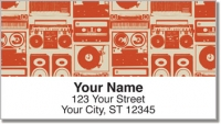 Click on Vintage Music Address Labels For More Details