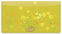 Click on Chive Flowers Checkbook Cover For More Details
